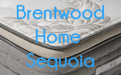Brentwood Sequoia Mattress Unboxing
