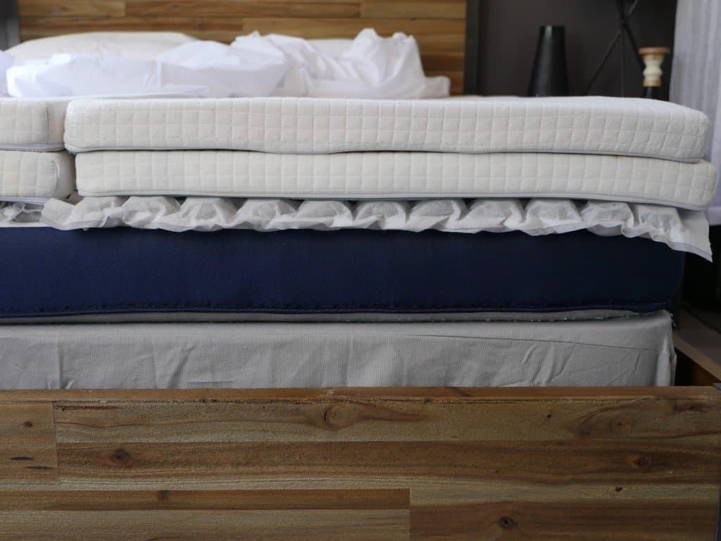 helix sleep mattress layers