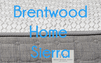 Brentwood Sierra Mattress Unboxing