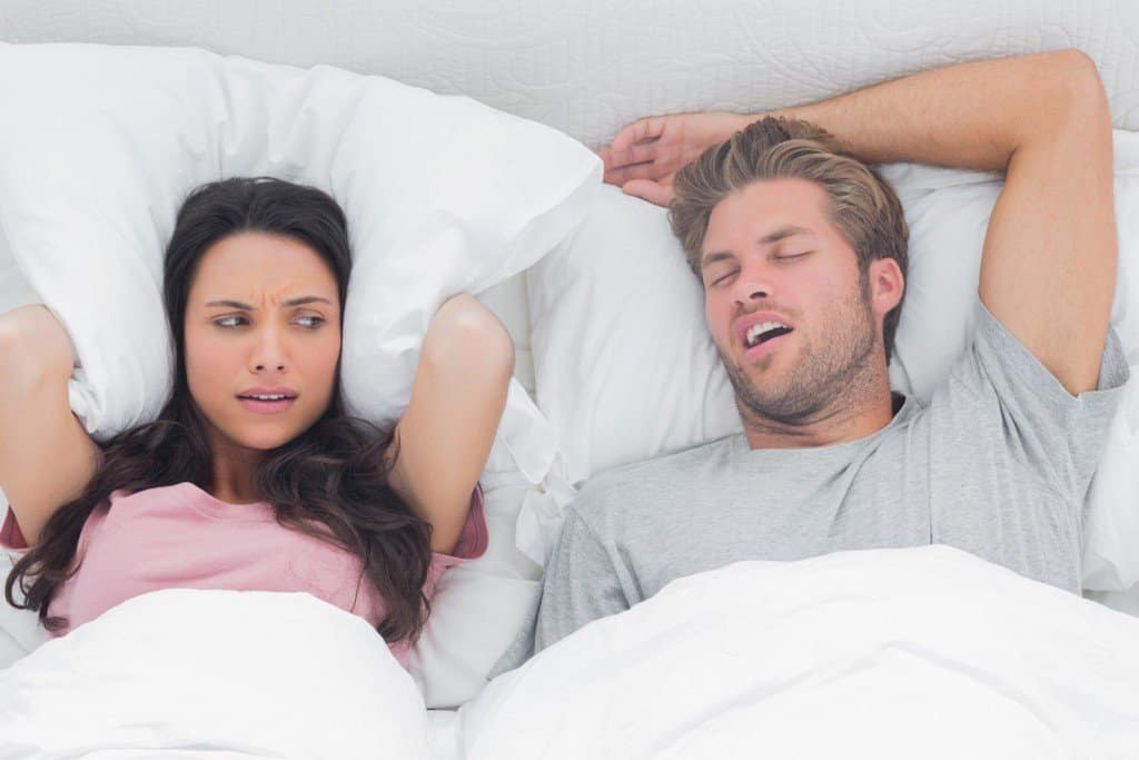 Snoring effects 30-50% of adults and can indicate more serious sleep issues