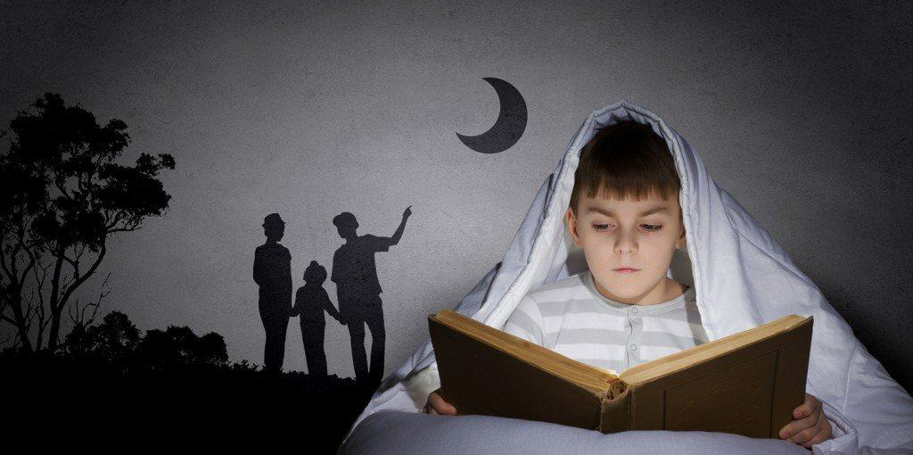 Bed time stories for kids can help them settle down and make going to sleep easier