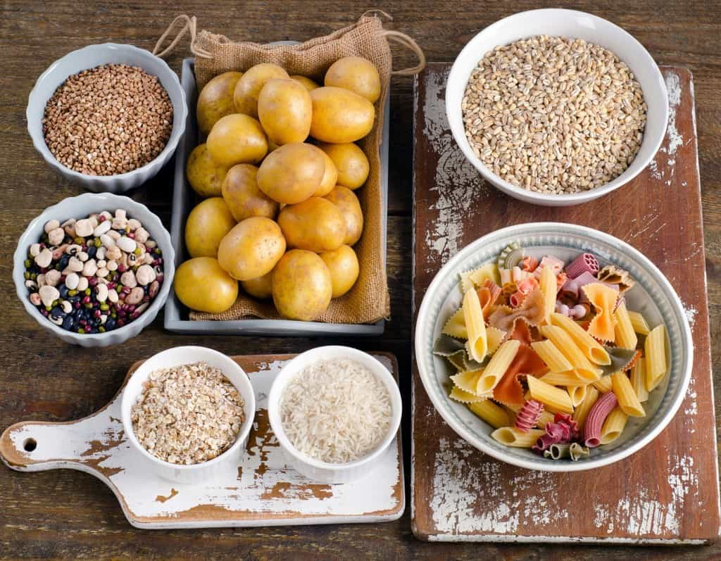 Complex carbohydrates are ideal foods to heat at dinner or immediately before bed time