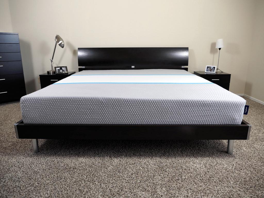 Hyphen mattress, King size, platform bed