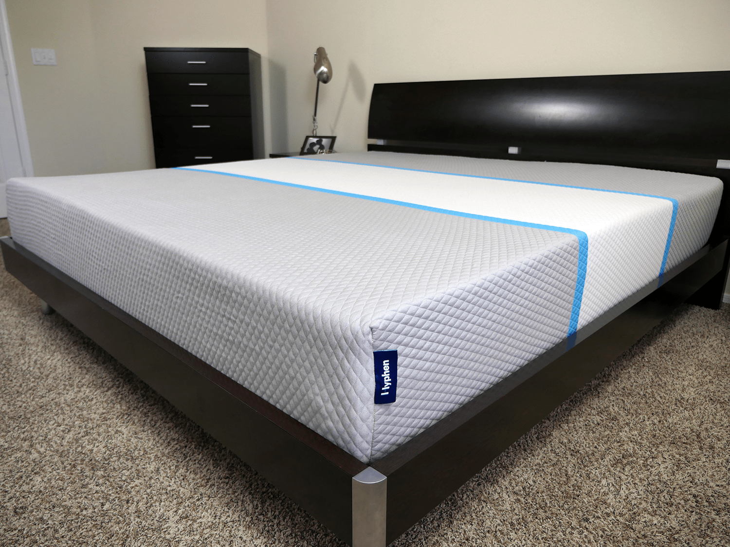 Close up shot of the Hyphen mattress cover