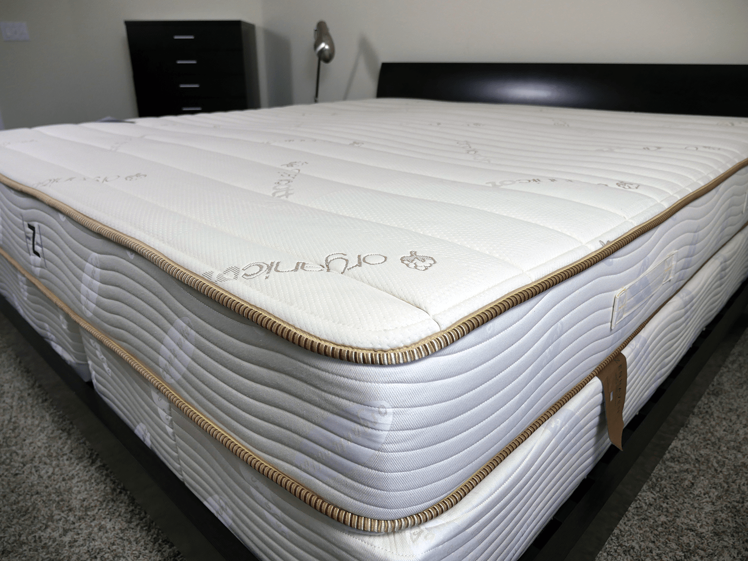 Close up shot of the ZenHaven mattress cover