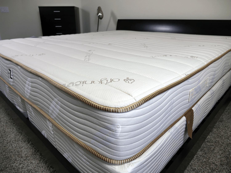 Close up shot of the ZenHaven mattress cover