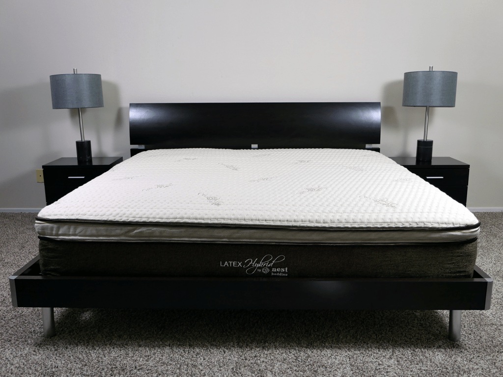 Hybrid Mattress In A Box Olee Sleep 12 Inch Hybrid