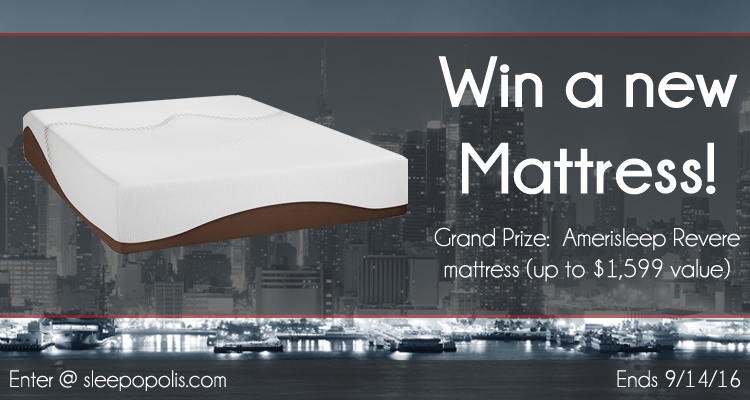 Amerisleep Revere mattress giveaway