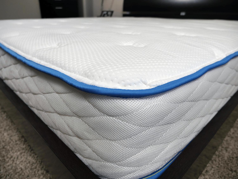 Close up shot of the Arctic Dreams mattress cover