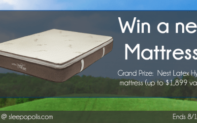 Nest Hybrid Latex Mattress Giveaway