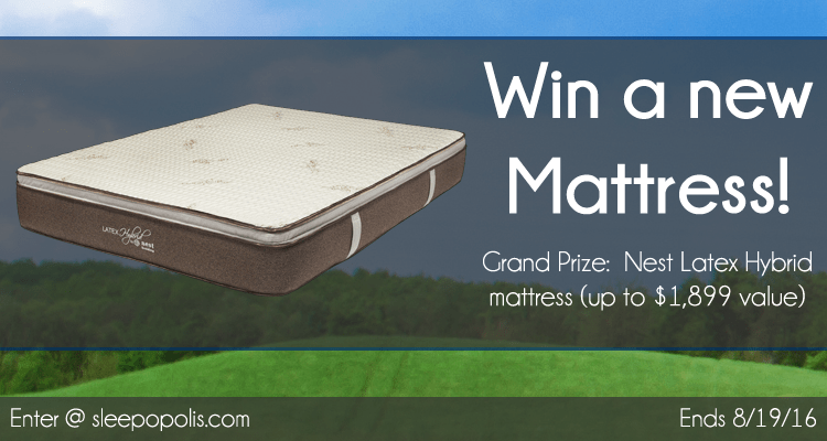 Nest Latex Hybrid Mattress Giveaway