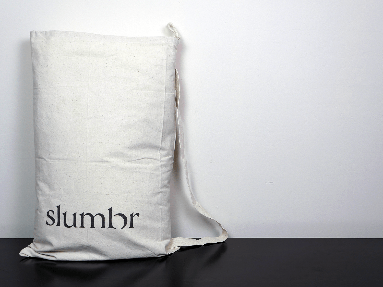 Original packaging of a Slumbr pillow