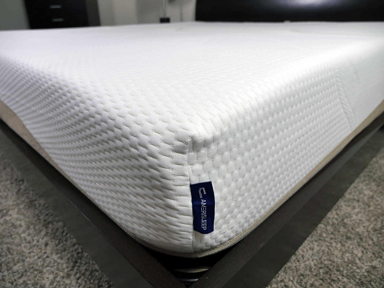 Close Up Shot Of The Amerisleep Liberty Mattress Cover