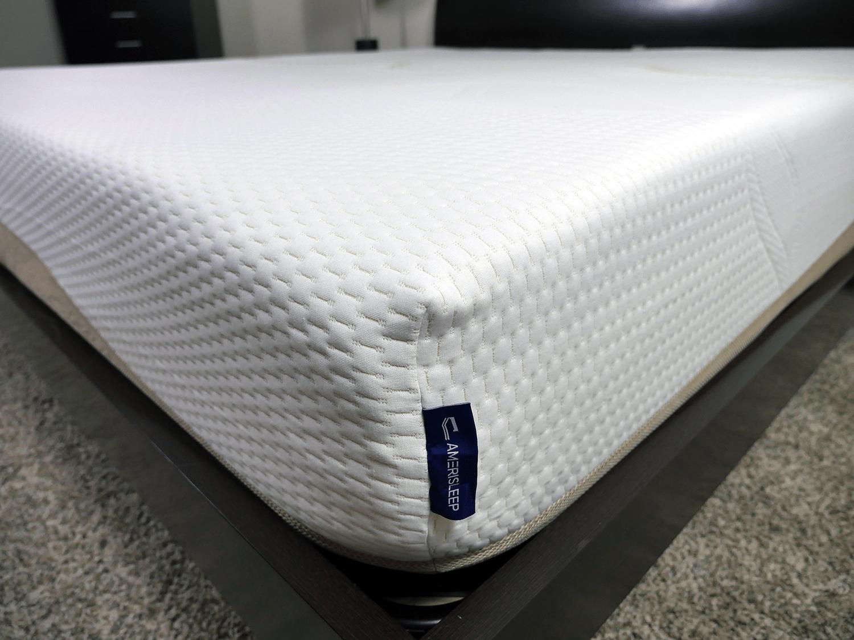 Close up shot of the Amerisleep Liberty mattress cover