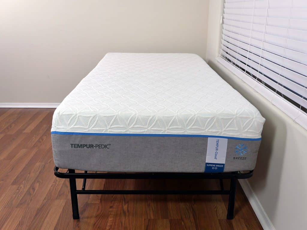 Tempurpedic Cloud Supreme Breeze mattress, Twin XL size