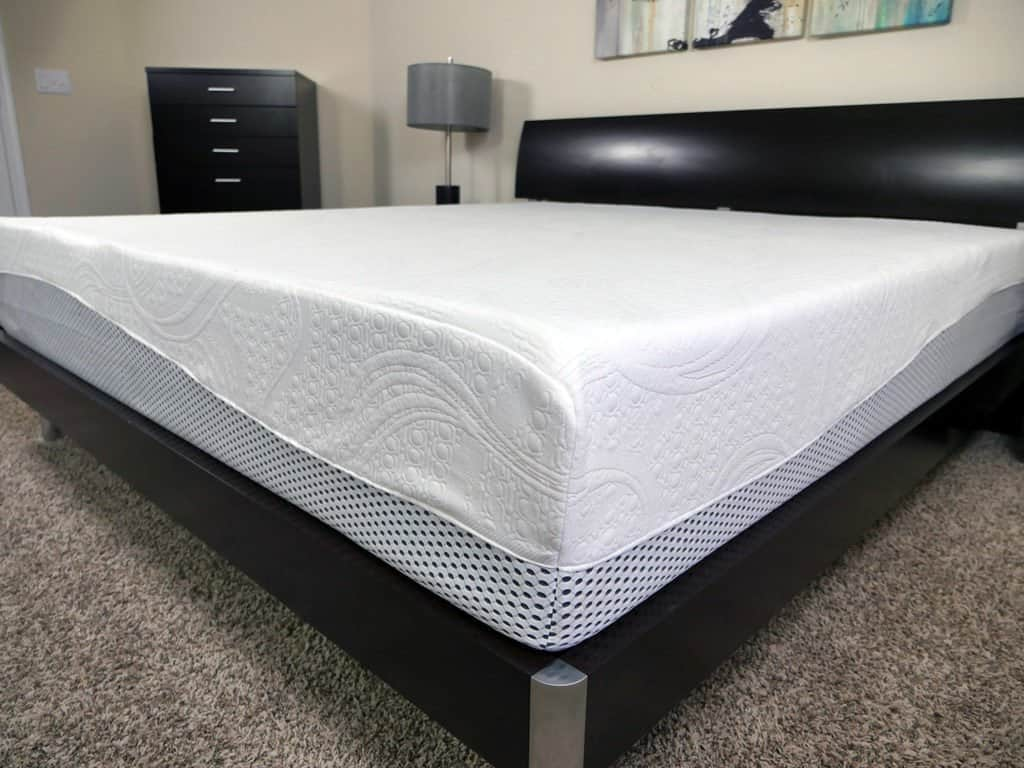 inch review memory lucid reviews mattress foam gel