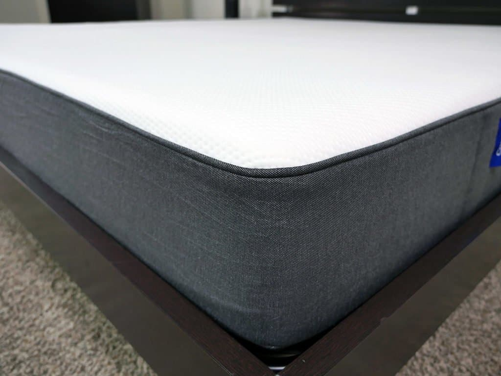 Close up shot of the Casper mattress cover