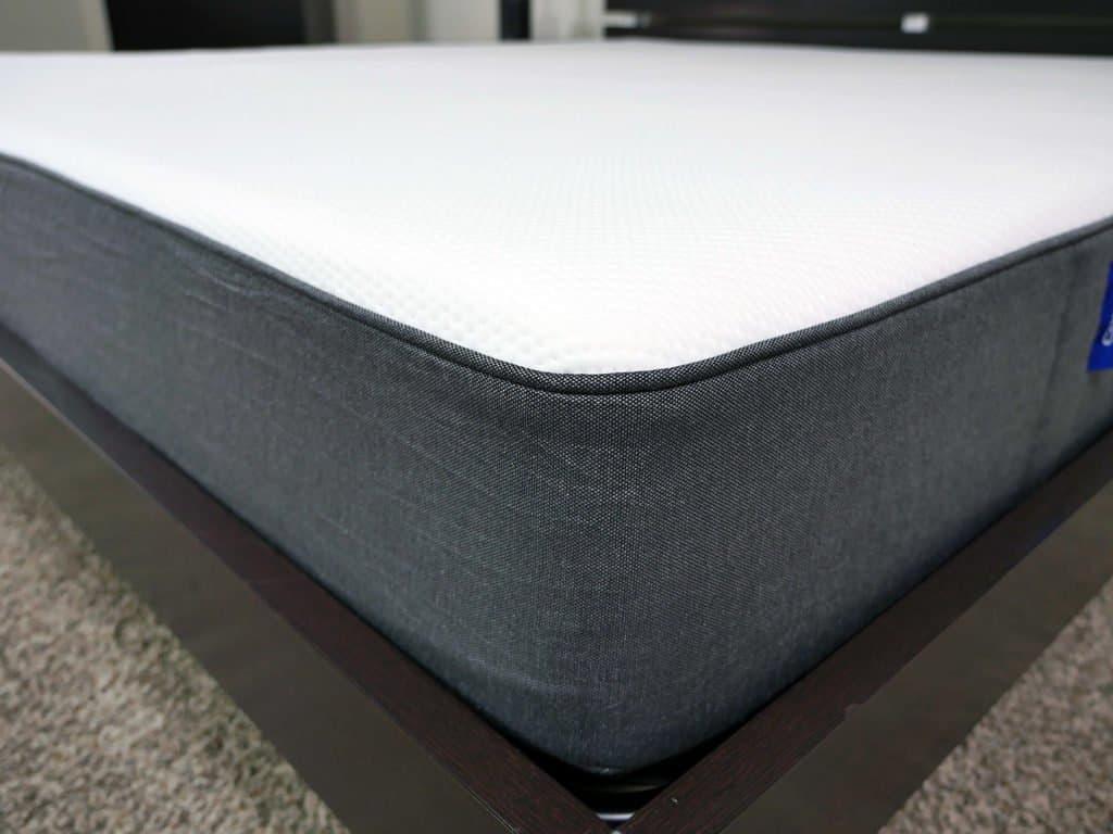 Close up shot of the Casper mattress cover