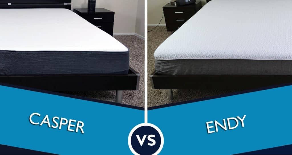 Endy vs. Casper - who will win this mattress review battle!