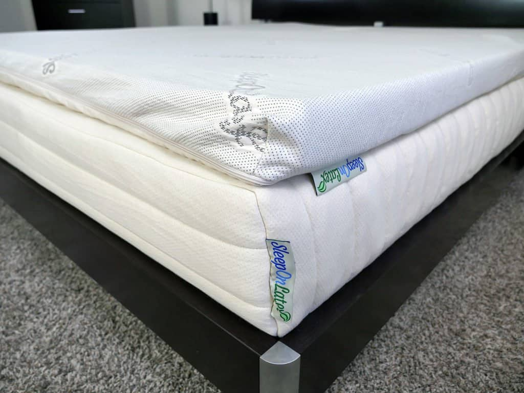 Sleep On Latex Mattress Topper Review Sleepopolis