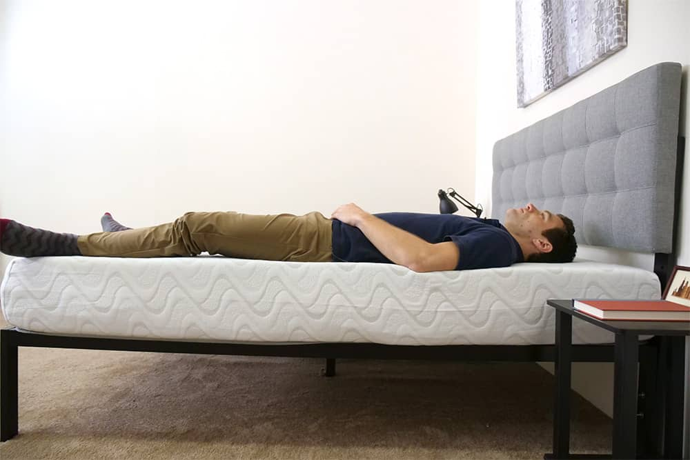 Nest - Love & Sleep Mattress Laying