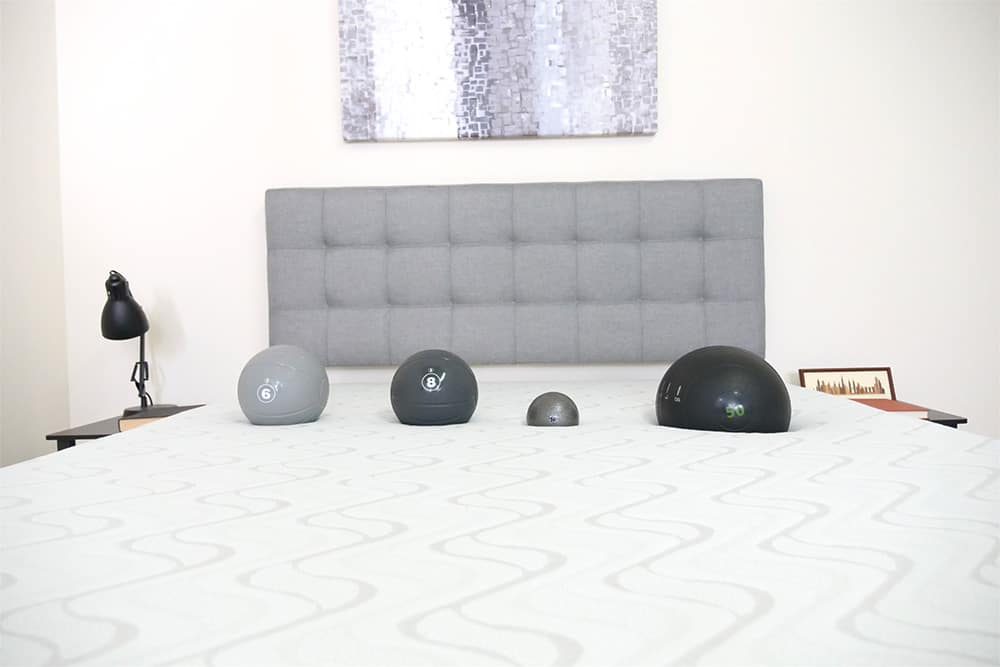 Nest - Love & Sleep Mattress Sinkage Test