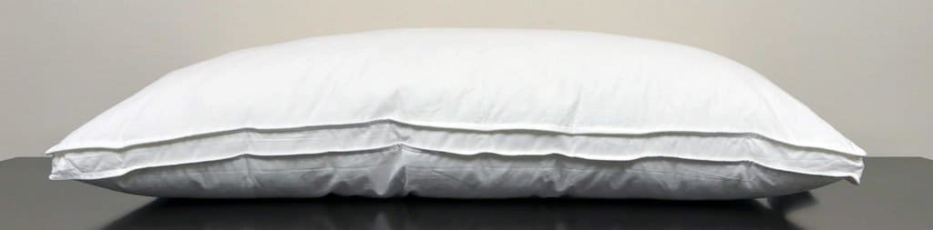 Flat shot of the eLuxurySupply Revoloft Pillow