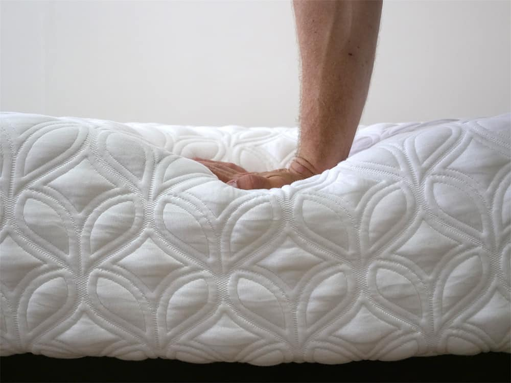Cocoon-Mattress-Hand-Press Cocoon Mattress Review