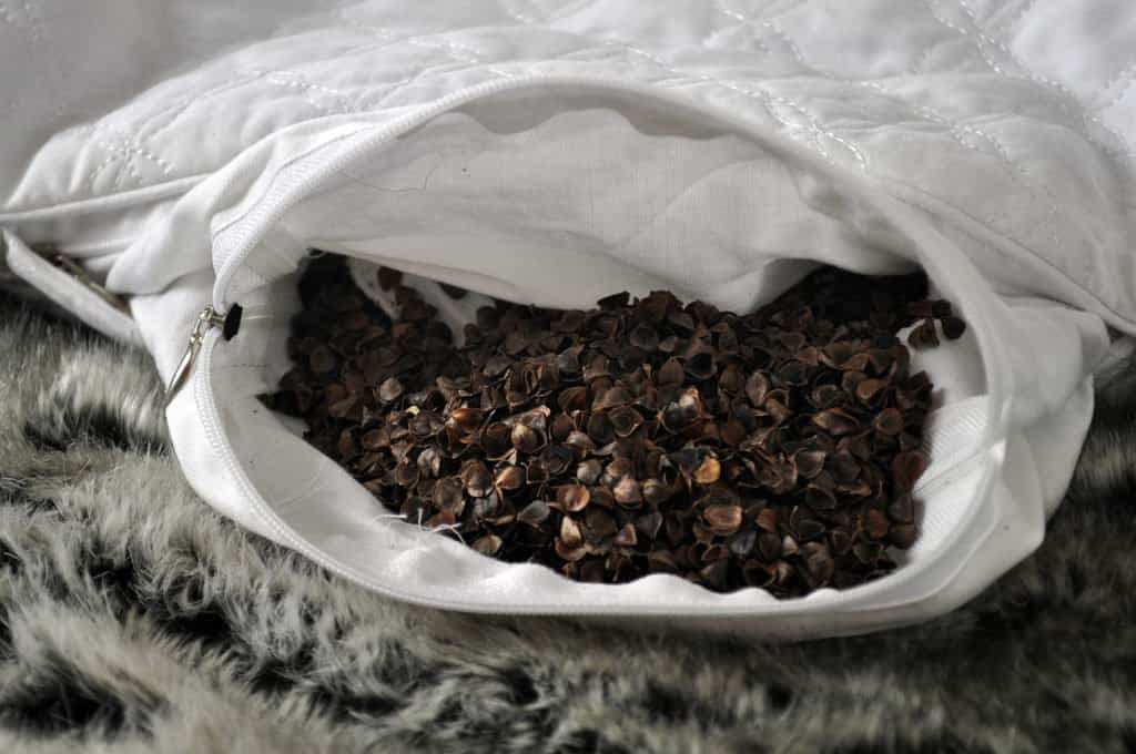 buckwheat pillow hulls