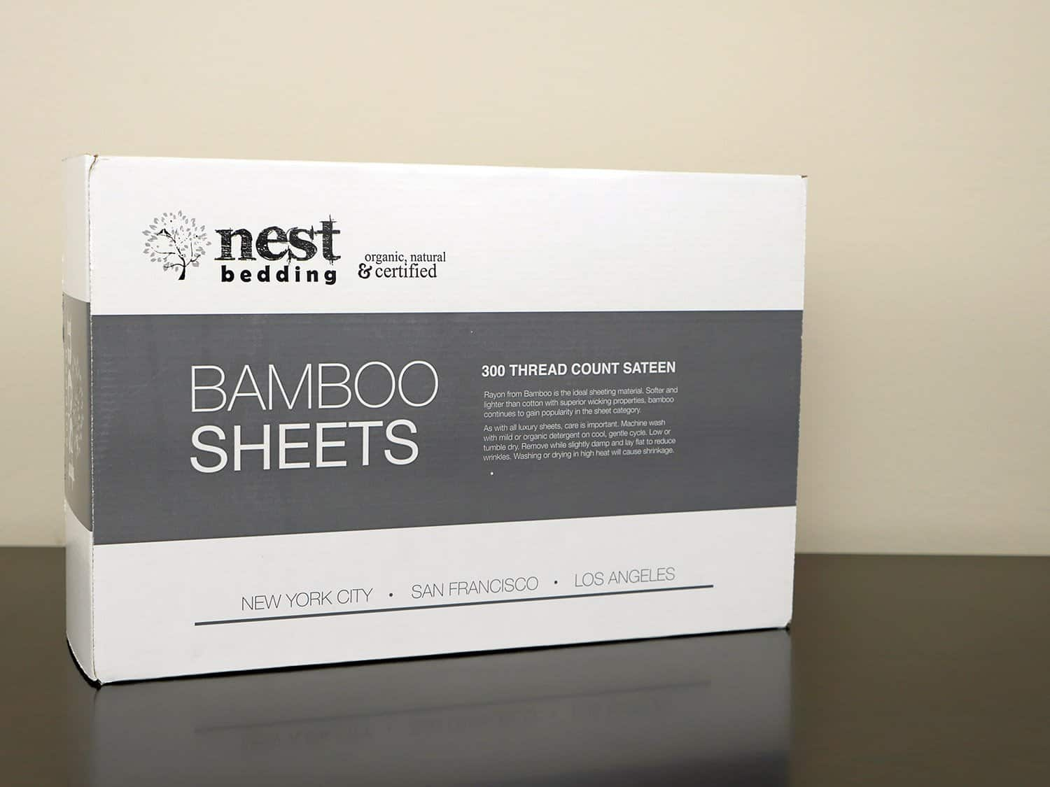 Nest Bedding bamboo sheets