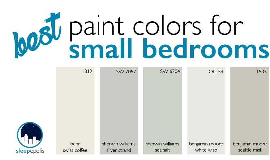 Paint Colors For Small Bedrooms: Small Bedroom Design