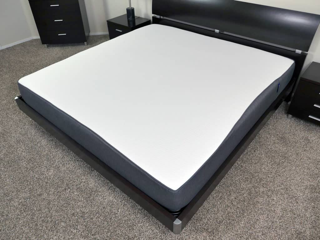 Casper mattress - angled view