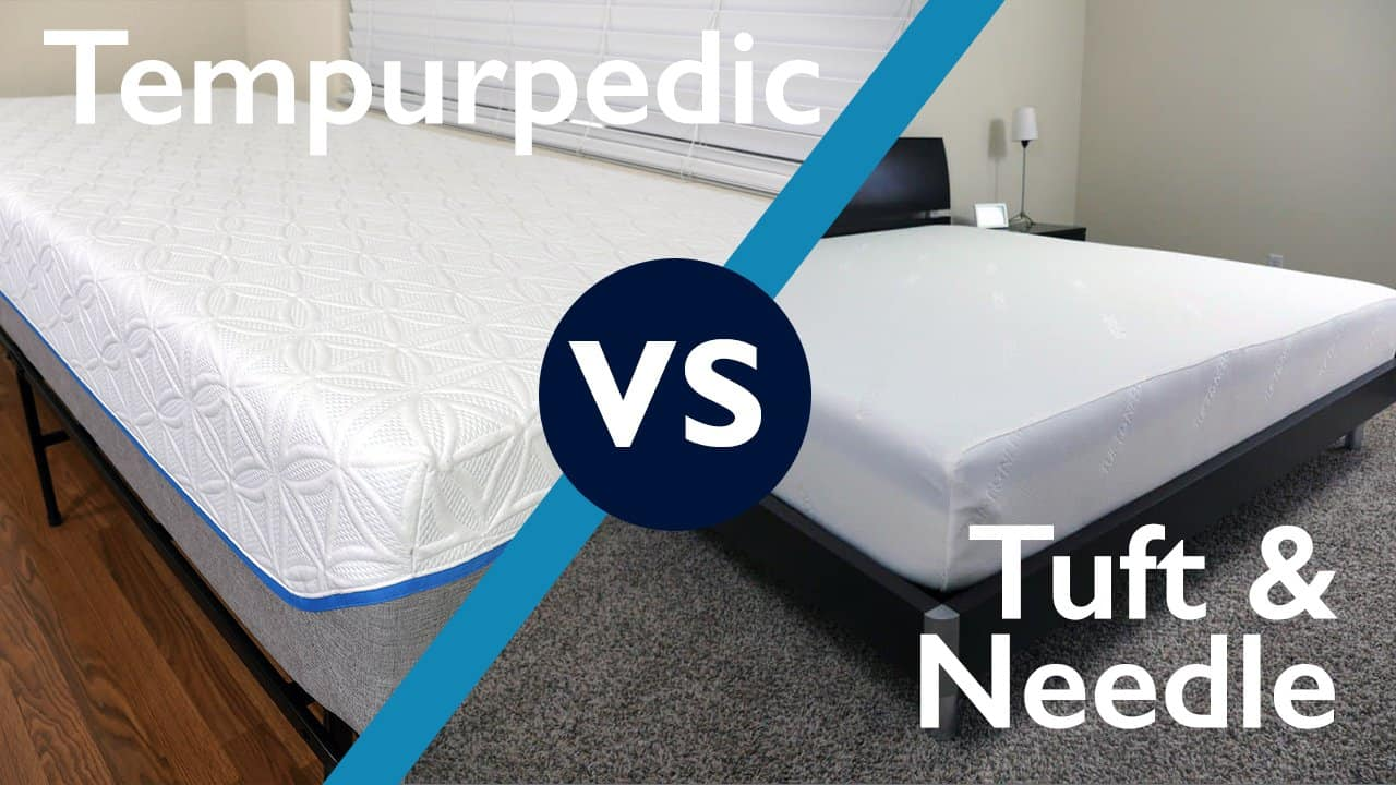 Tuft needle vs tempurpedic mattress review sleepopolis for Brooklyn bedding vs tuft and needle