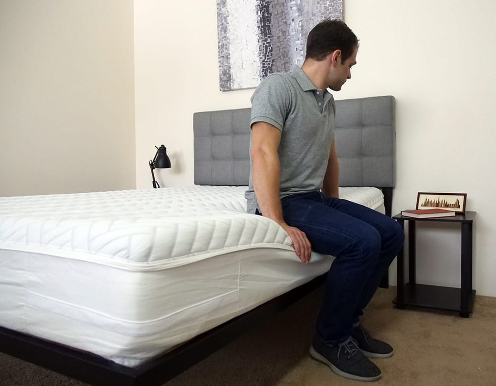Wright Mattress Edge Support Test