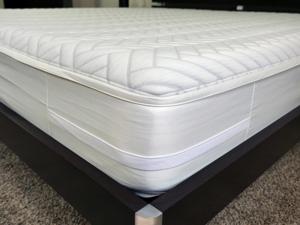 Close up shot of the Wright mattress cover