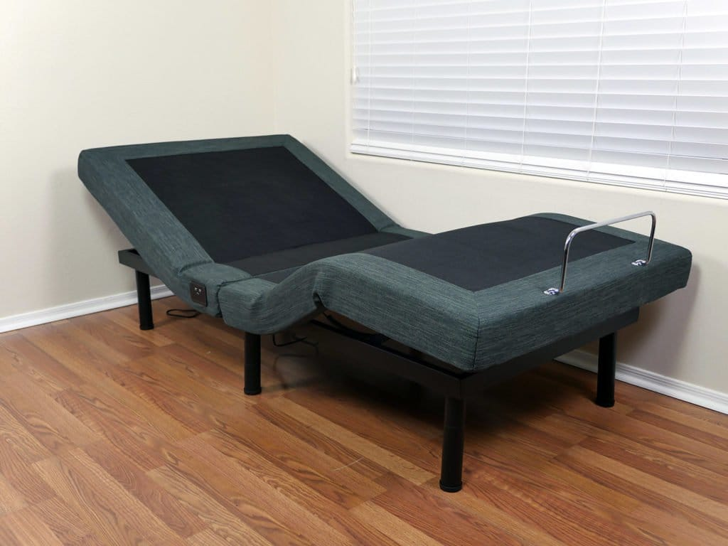 Classic Brands Adjustable Bed in the lounge position