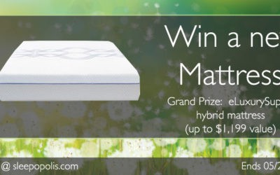 eLuxurySupply Hybrid Mattress Giveaway