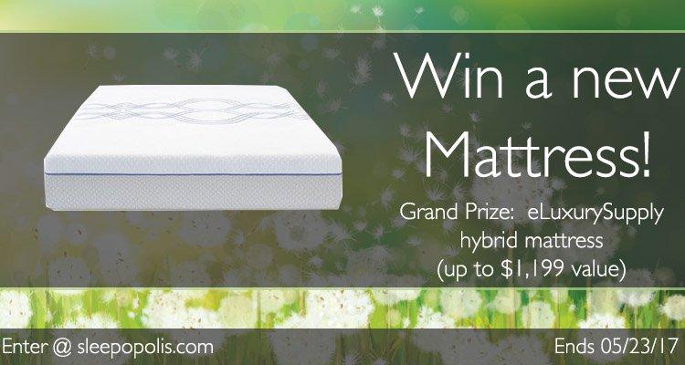 eluxury hybrid mattress giveaway