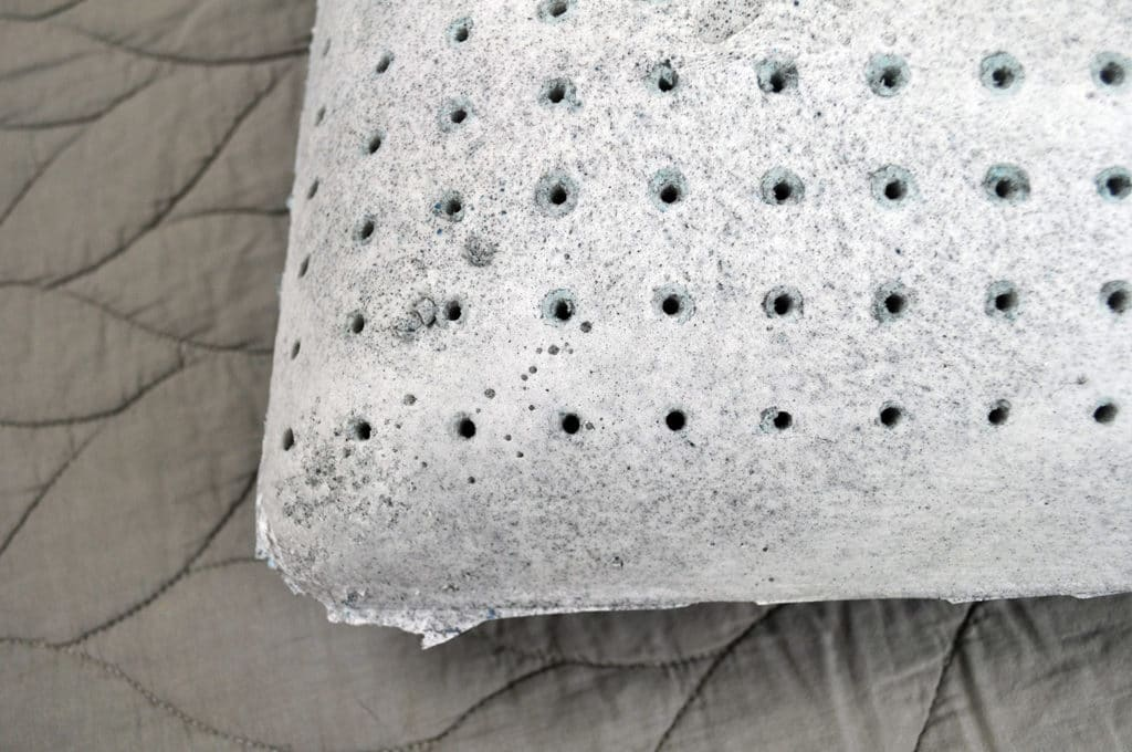 malouf carbon cool pillow gel memory foam