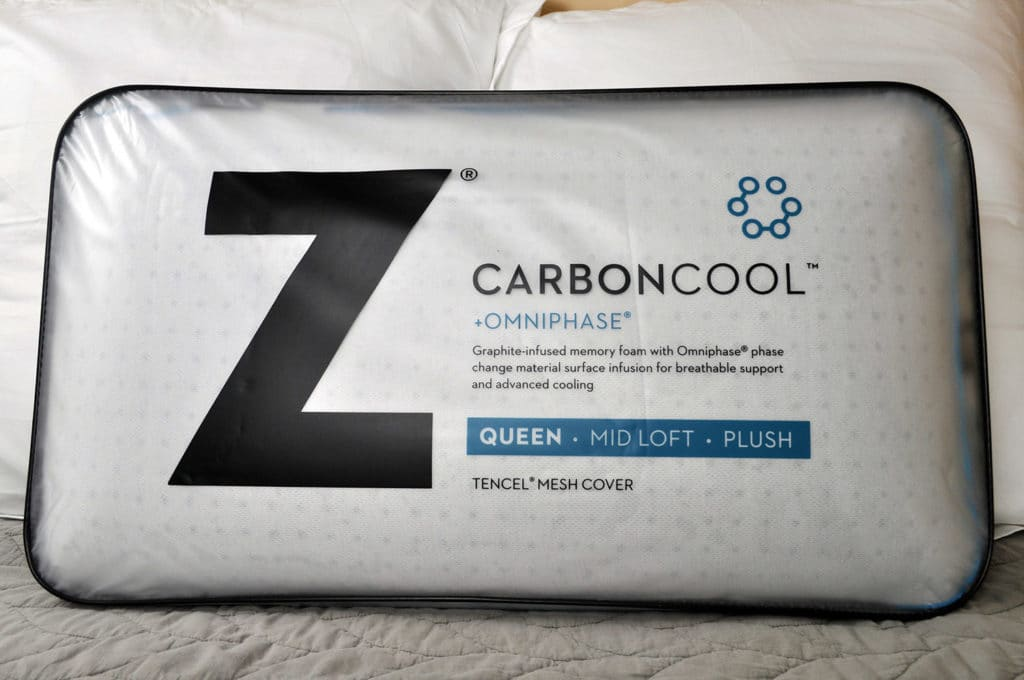 malouf carbon cool pillow review