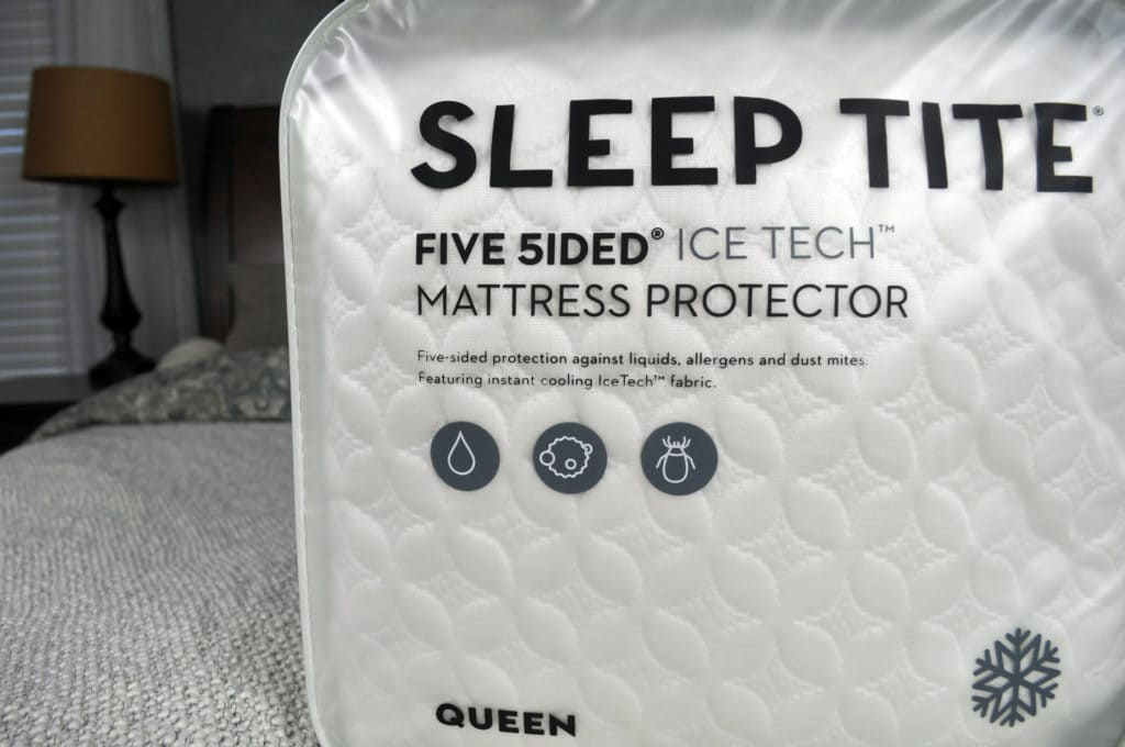 Malouf Sleep Title Ice Tech Mattress Protector - overview