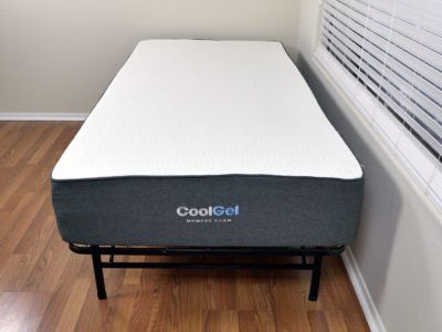Classic Brands Cool Gel mattress, Twin XL size