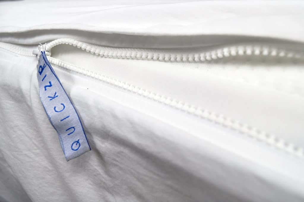 quickzip sheet fitted sheet zip