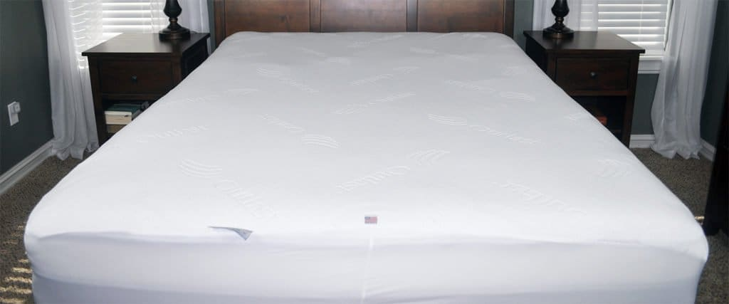slumber cloud dryline mattress protector overall