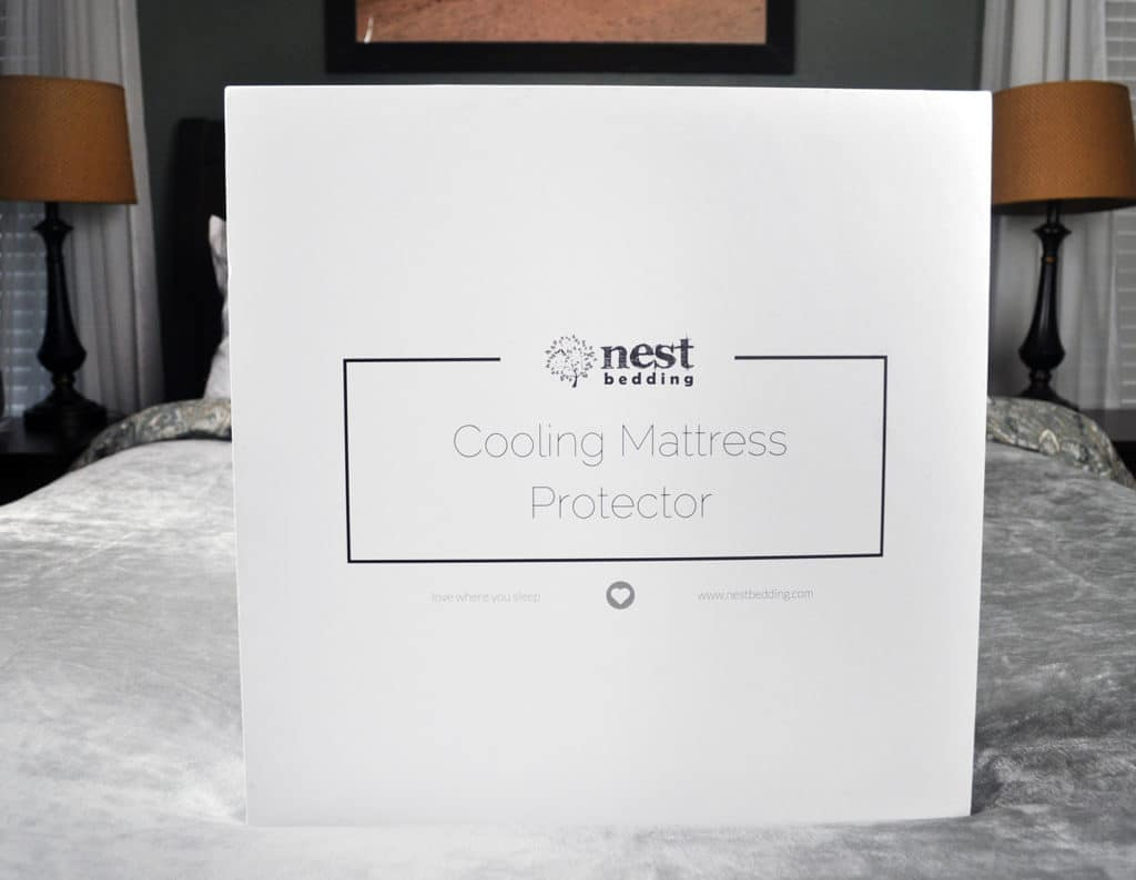 nest bedding cooling mattress protector packaging