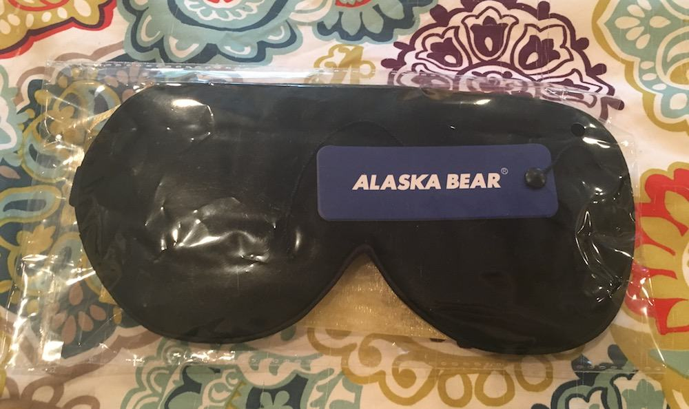 Alaska Bear Sleep Mask In Package