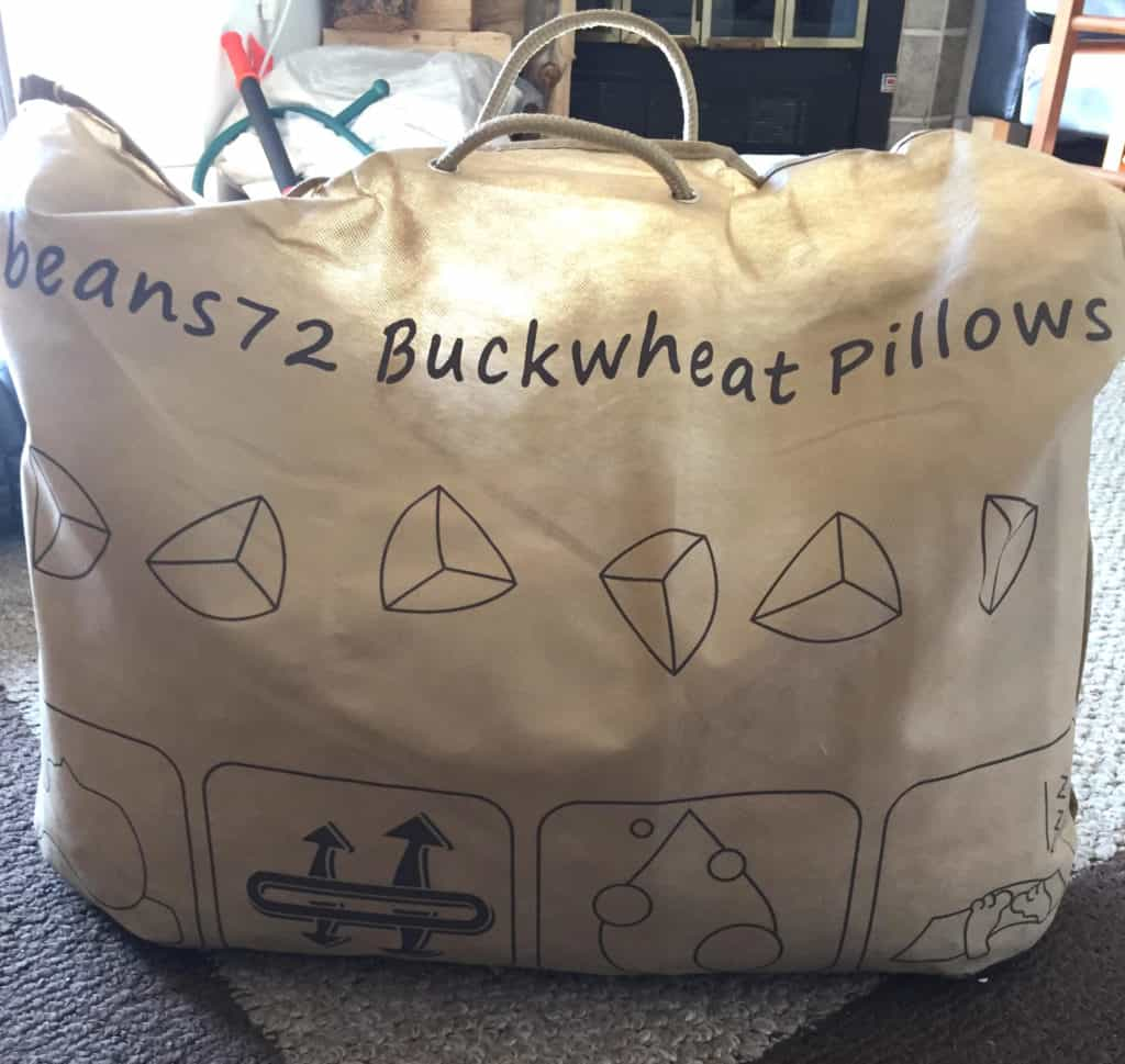 Beans72 Buckwheat Pillow Packaging