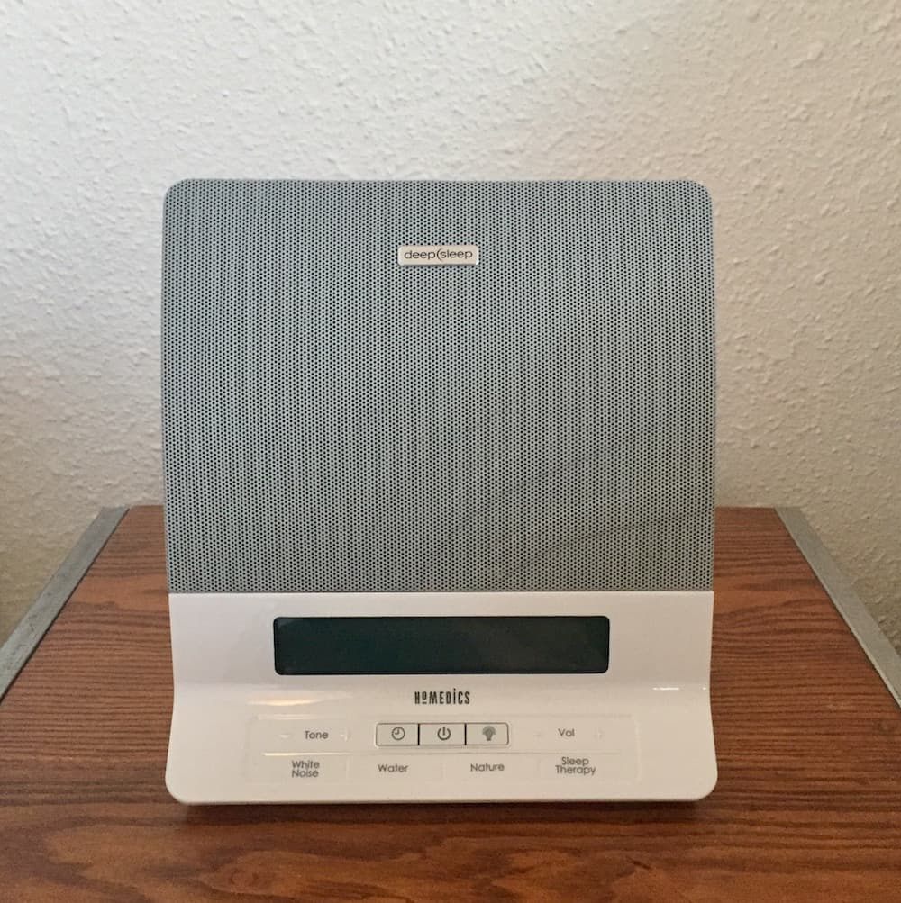 Homedics Deep Sleep Renewal Review