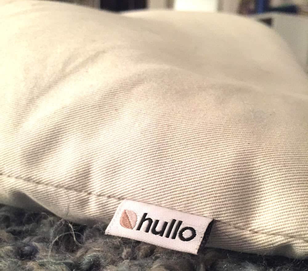 HulloBuckwheatPillowCover Best Reviewed Buckwheat Pillows