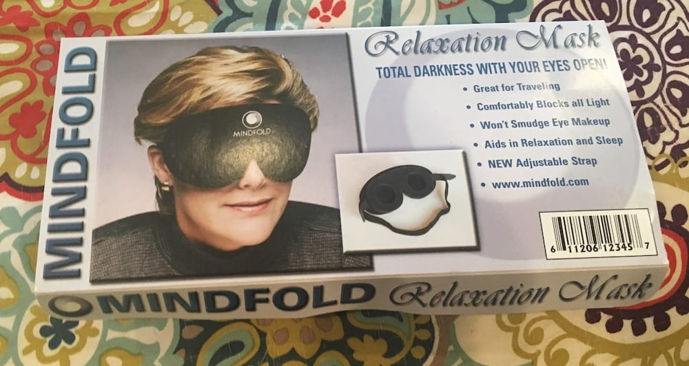 Mindfold Sleep Mask Package
